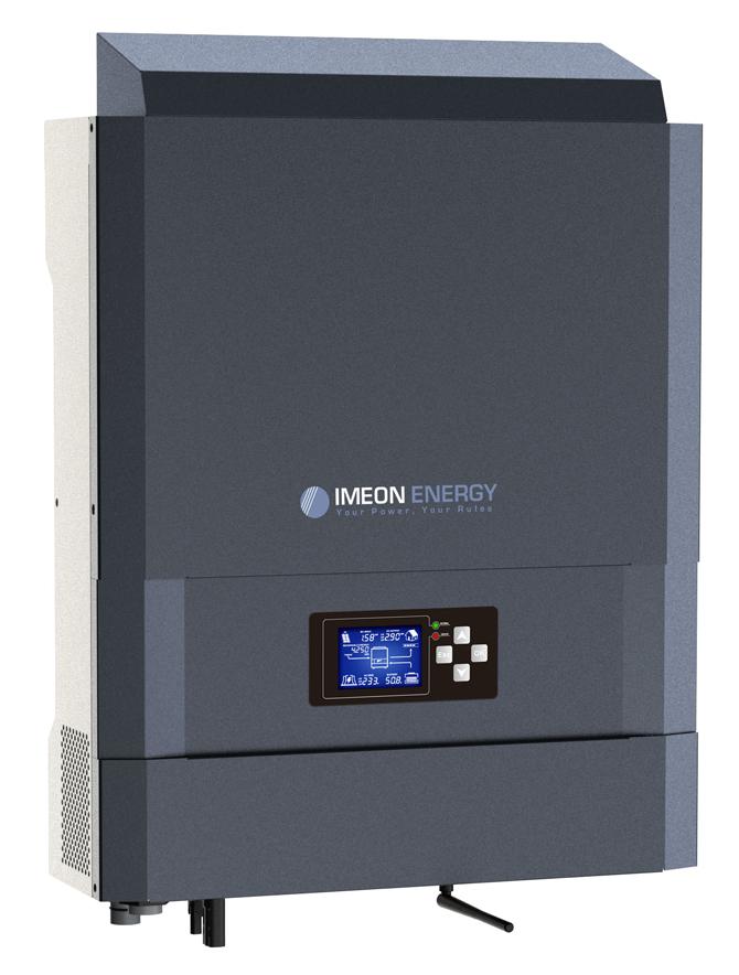onduleur solaire hybride 3.6 IMEON ENERGY