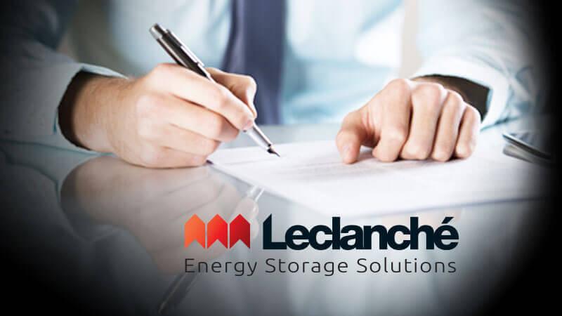 IMEON ENERGY signe un contrat de partenariat avec la société Leclanché