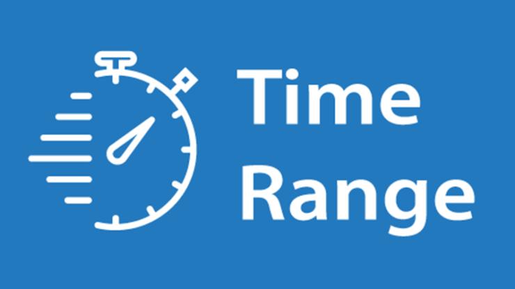 Imeon app time range