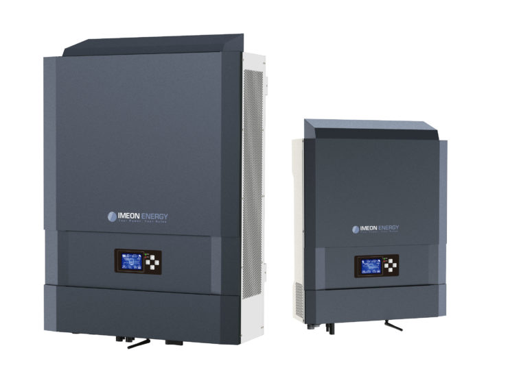 Imeon energy solar hybrid inverters