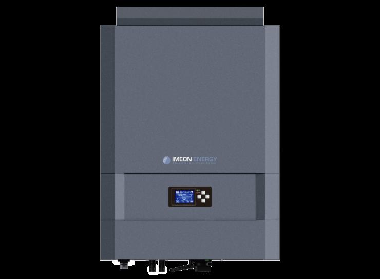 Solar hybrid Inverter Imeon 9.12 facing