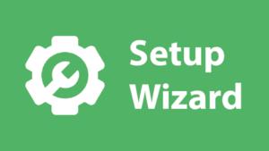 imeon application setup wizard